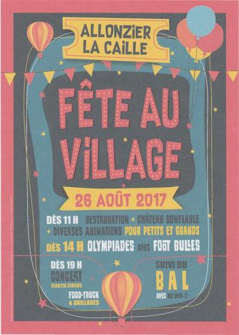 fête au village Allonzier