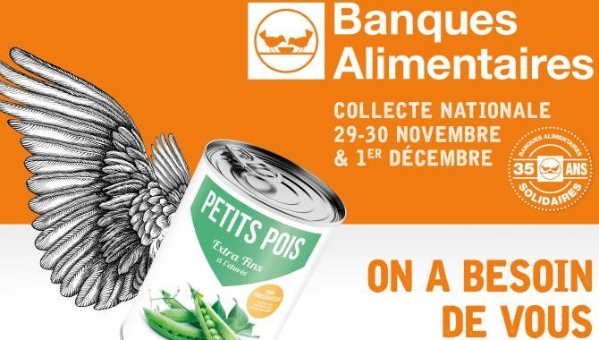 Flyer collecte nationale de la banque alimentaire